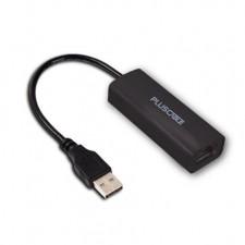 Detalhes do produto Adaptador de Rede USB p/ RJ45 ADP-001BK