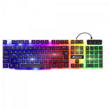 Teclado Gamer Semi-Mecânico Chromatic Multimidia GK-710