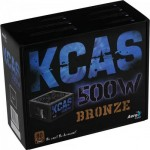 Fonte AeroCool 500W 80 Plus Bronze Kcas - Foto 2