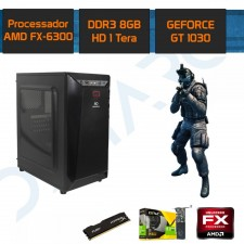 Detalhes do produto PC Gamer Demarc FX 6300+GT 1030 2GB+8GB+1TB