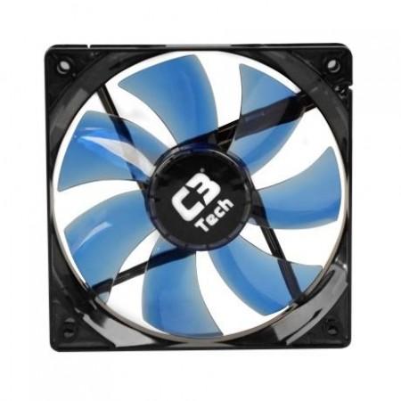 Cooler Fan Led F7-L100BL 120mm C3Tech