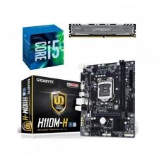 Detalhes do produto Kit Upgrade Core I5 7400+Pl. Mãe H110M-S2V+Memória 8GB DDR4 2400Mhz