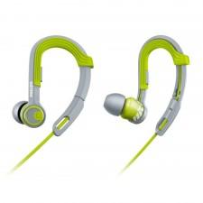 Detalhes do produto Fone de Ouvido Philips Ergonômico SHQ3300LF/00 Verde/Cinza