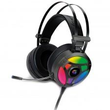 Detalhes do produto Headset Gamer Fortrek RGB, 2x P2 + USB, Cinza - H1 Pro