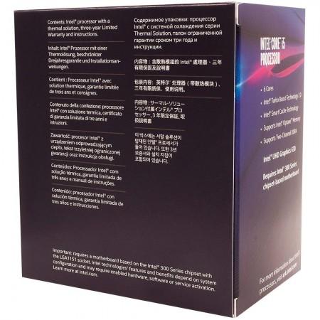 PROCESSADOR INTEL CORE I5-8400 COFFEE LAKE 9MB CACHE 2.8GHZ HEXA-CORE