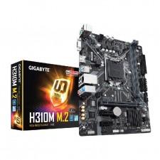 Detalhes do produto Placa-Mãe GIGABYTE p/ Intel LGA 1151 mATX H310M M.2 DDR4