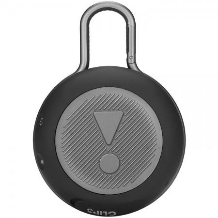 Caixa de Som JBL Clip 3, Bluetooth, À Prova D´Água, 3.3W, Preto- JBLCLIP3BLK