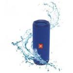 Caixa de Som JBL Flip 4, Bluetooth, A Prova D´Água, 16W, Azul - Foto 1