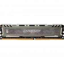 Detalhes do produto Memória Crucial Ballistix Sport LT, 8GB, 3000MHz, DDR4, CL15, Cinza - BLS8G4D30AESBK