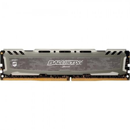 Memória Crucial Ballistix Sport LT 8GB 2400MHz DDR4 Cinza