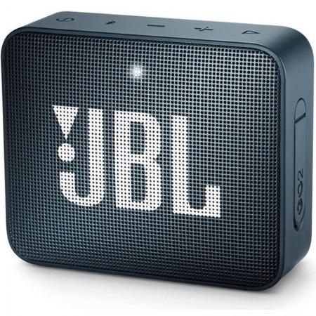 Caixa de Som JBL Go 2, Bluetooth Prova D´Água 3.1W, Azul-Marinho
