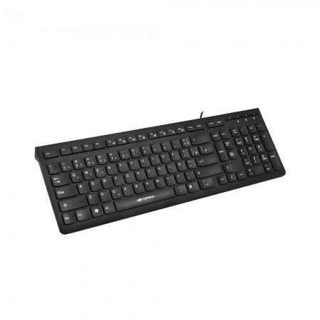 Teclado Multimídia KB-M60BK USB Preto C3Tech