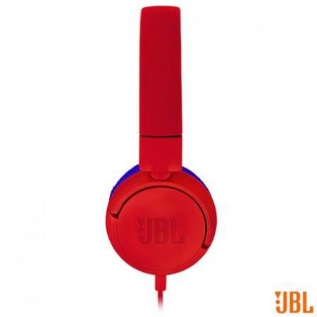 Fone de Ouvido JBL Headphone Vermelho/Azul - JR300RED