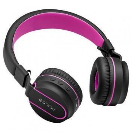 Fone de Ouvido Fun Bluetooth Series Preto-Rosa Pulse PH216