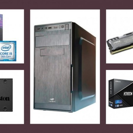 PC Empresarial Demarc Intel Core I5 9400 2.9Ghz+8GB RAM+SSD 240GB