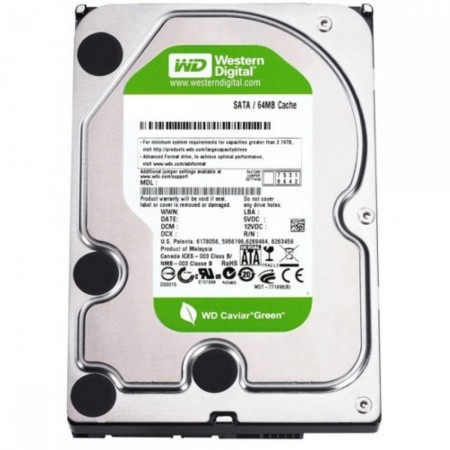 HD Interno 1TB Western Digital SataIII 3,5