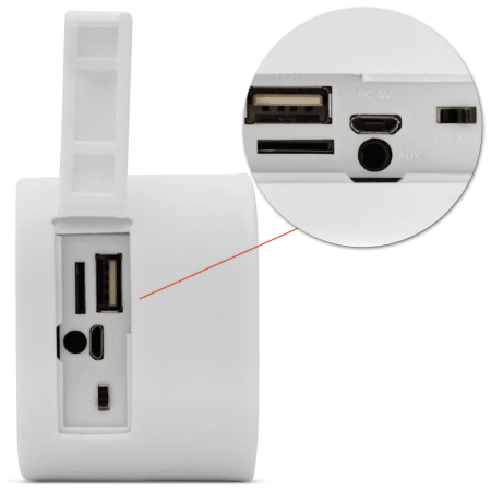 Caixinha de Som Portátil com Bluetooth-Pulse SP207
