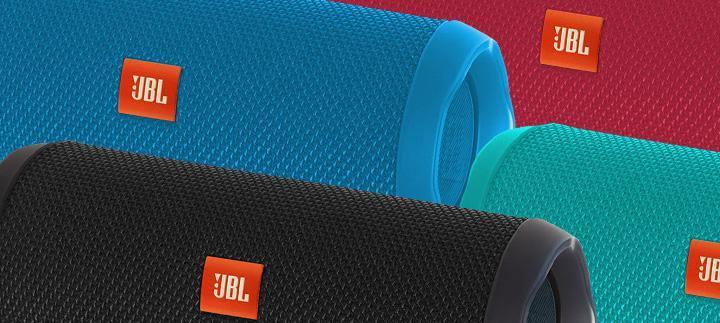 Caixa de Som JBL Flip 4, Bluetooth, A Prova D´Água, 16W, Azul