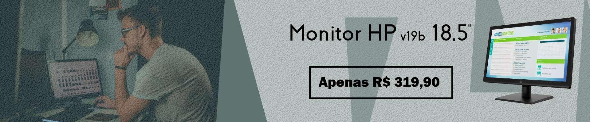 Promoção Monitor HP